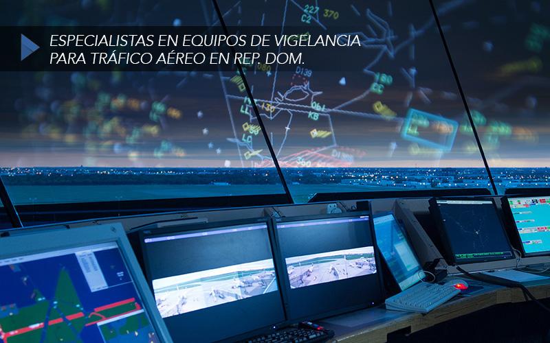 equipos de tráfico aéreo